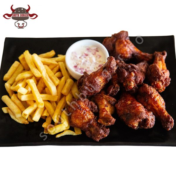 south wings, south burger
